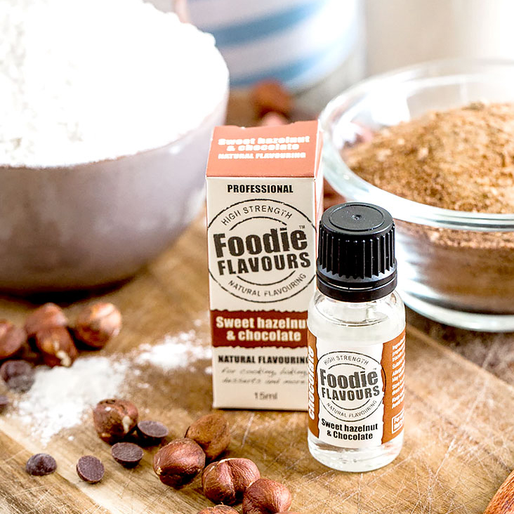 Sweet Hazelnut and Chocolate Natural Flavouring